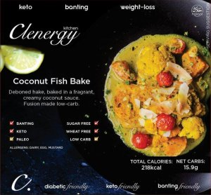 Coconut Fish Bake
