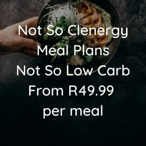 GAUTENG ONLY - Not So Clenergy