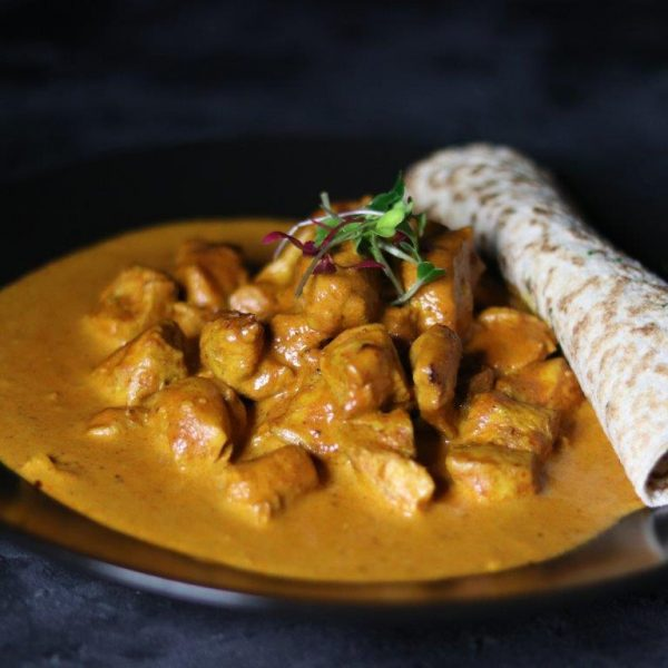 Butter Chicken and Roti Insta 2
